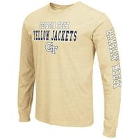 "Georgia Tech Yellowjackets ""Game Changer"" Long Sleeve Dual Blend Men's T-Shirt"