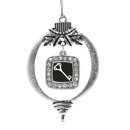 Heart Shaped Key Classic Holiday Ornament - Heart Shaped Ornaments