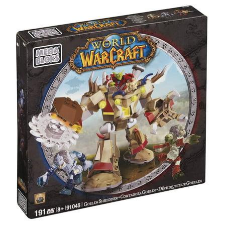 Mega Bloks World of Warcraft Goblin Schreder Play