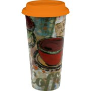 Konitz  'Fresh Brew' Large Porcelain Travel Mugs (Set of 2)