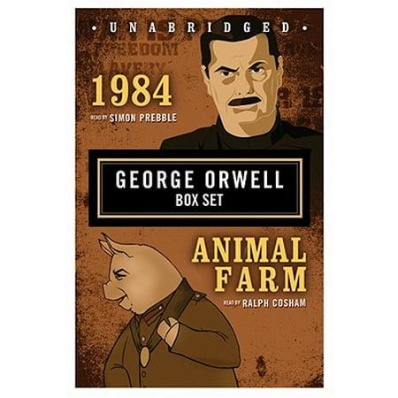 George Orwell Boxed Set : 1984, Animal Farm