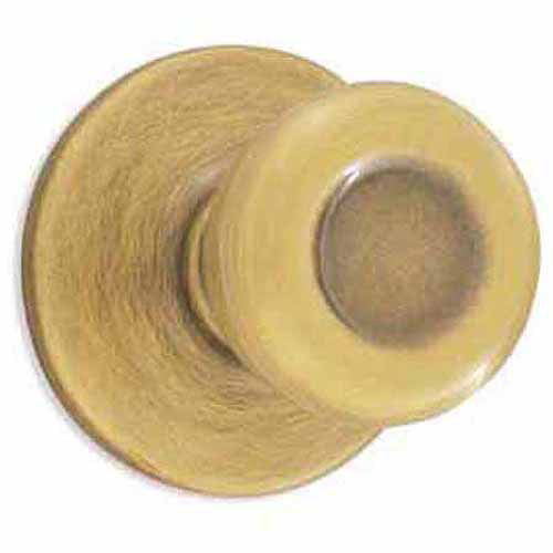Kwikset 94880-363 Polished Brass Tylo Dummy Knob Set