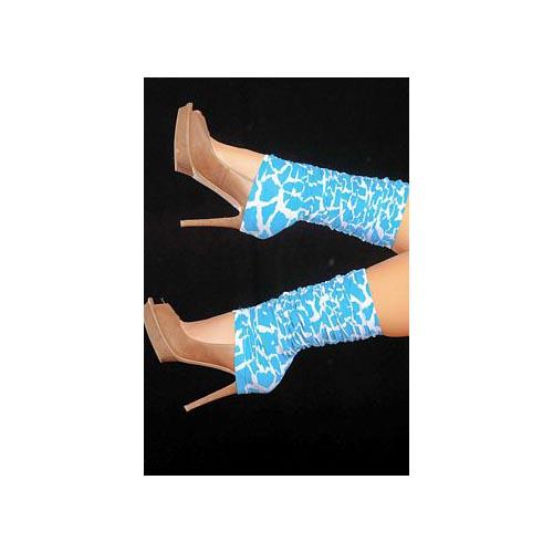 Espiral Turquoise Leg Warmers 1035 Animal Turquoise