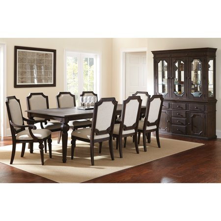 Steve Silver Cayden 9 Piece Dining Table Set With Optional Buffet Amp Hutch