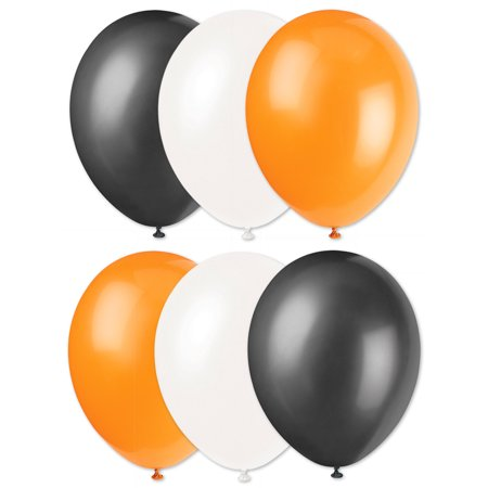 Cincinnatti Bengals Football Super Bowl 6pc Latex Balloons, Orange Black White