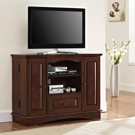 Brown Wood 42 Inch Highboy Tv Stand