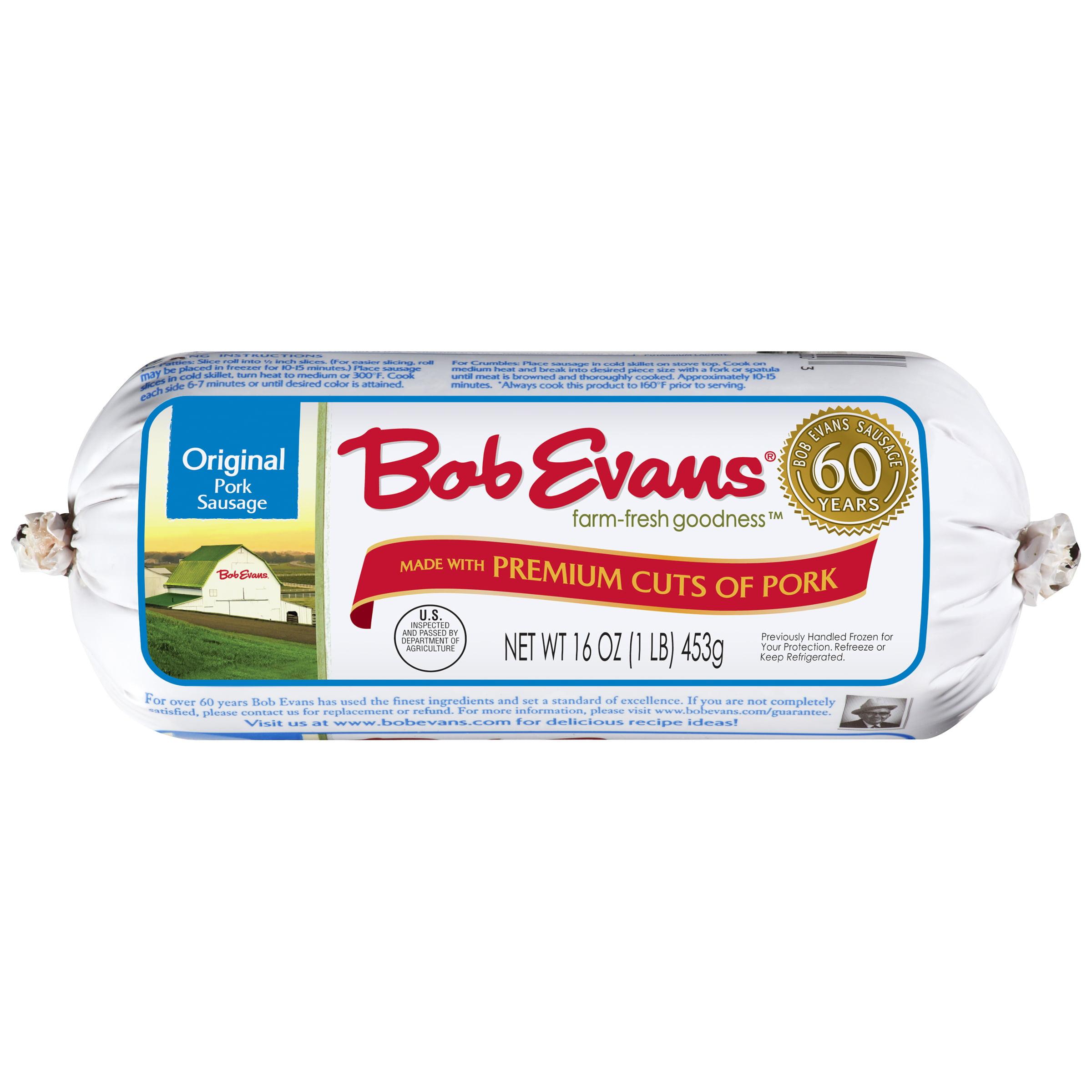 Bob Evans® Original Pork Sausage 16 oz. Chub - Walmart.com