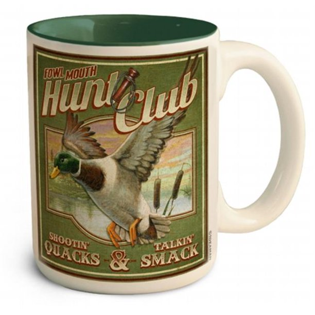 Ideaman CMUG-419 15 oz. Large Coffee Mug, Mallard ...