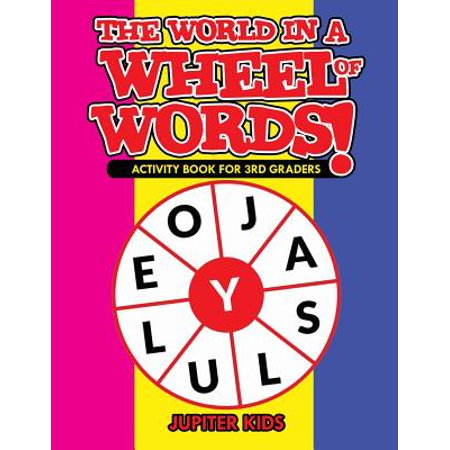 The World in a Wheel of Words! Activity Book for 3rd Graders](Halloween Songs For 3rd Graders)