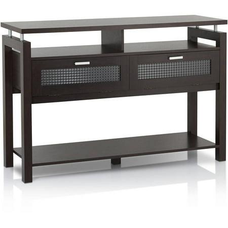 Furniture of America Gueston Contemporary Style Console Table, Espresso ()
