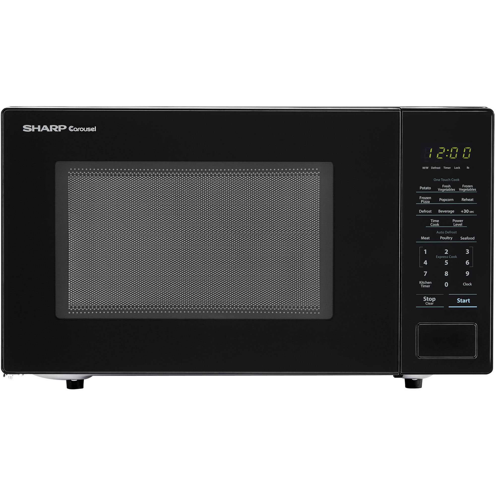 Sharp Zsmc1131cb 1 Cu Ft Microwave