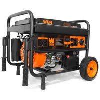 WEN 4750W Portable Generator with Electric Start and Wheel Kit, CARB Compliant