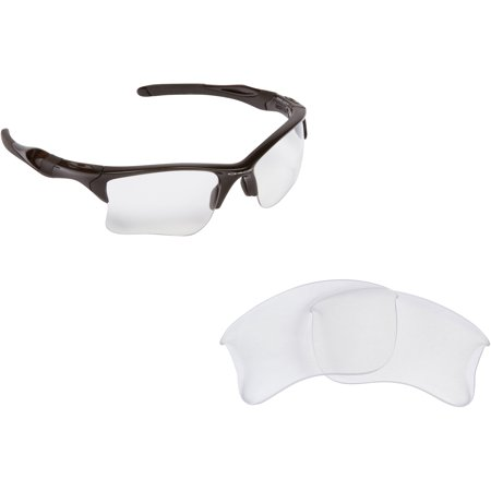 452f957da0 Seek Optics - Half Jacket 2.0 Replacement Lenses Crystal Clear   Ruby Red  by SEEK fits OAKLEY - Walmart.com
