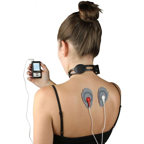 PCH Digital Pulse Massager 3 AB Silver - Neck Combo