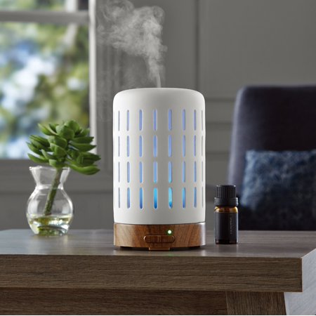 Mainstays Essential Oil Diffuser With Wood