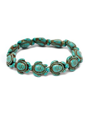 6e7c0bb560cc0 Product Image Handmade Genuine Turquoise Hawaiian Sea turtle bracelet