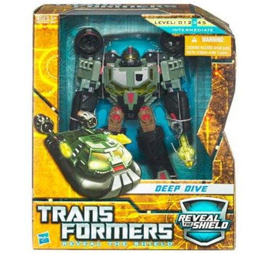 Transformers Hunt for the Decepticons Deep Dive Action Figure