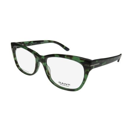579a92ea468 New Gant Gw 4022 Womens Ladies Cat Eye Full-Rim Transparent Green Tortoise  Cat
