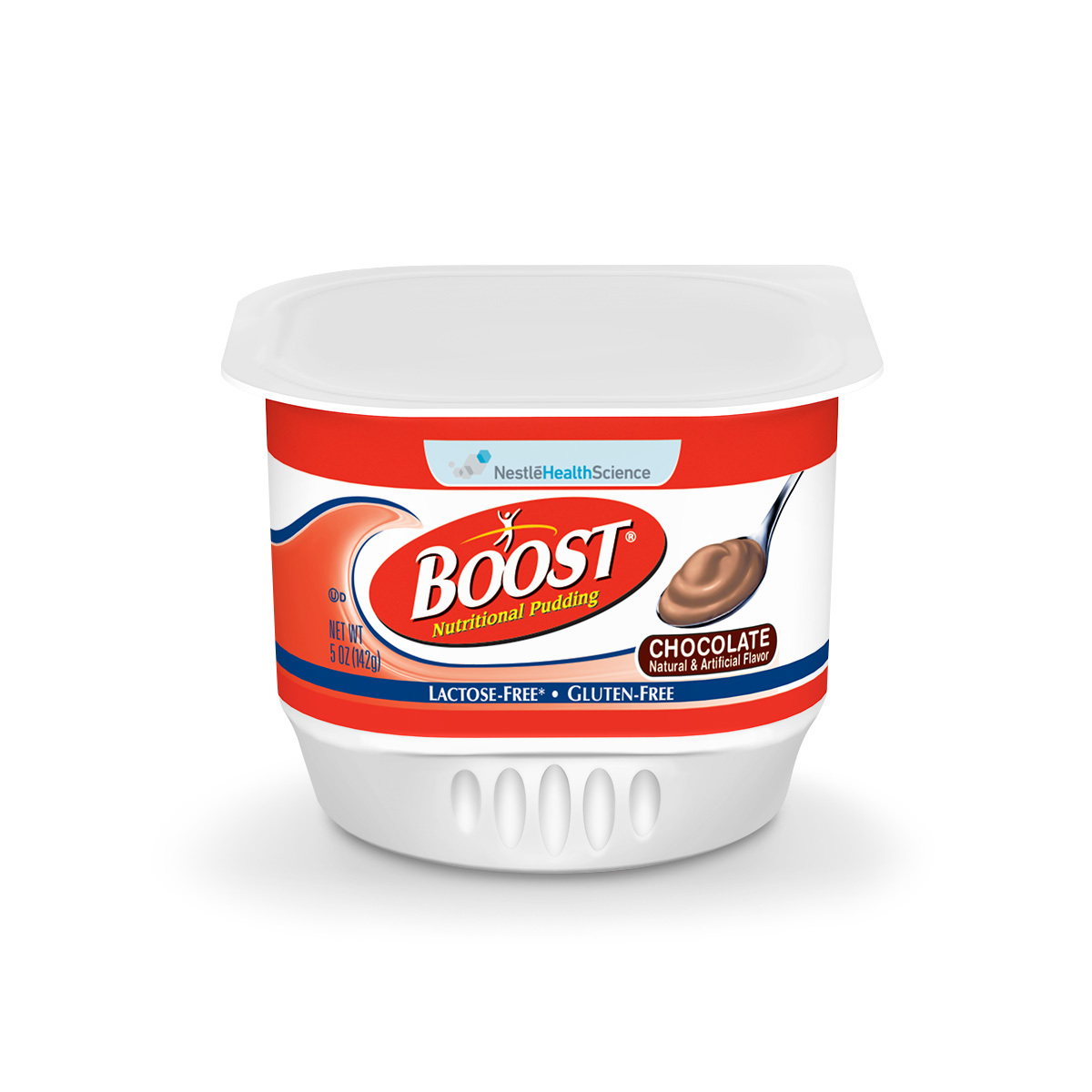 Boost Nutritional Pudding, Chocolate, 5 oz Cups - Case of 48