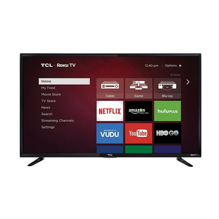 "Refurbished TCL Roku 48"" Class - Full HD, Smart, LED TV - 1080p, 120Hz (48FS3750)"