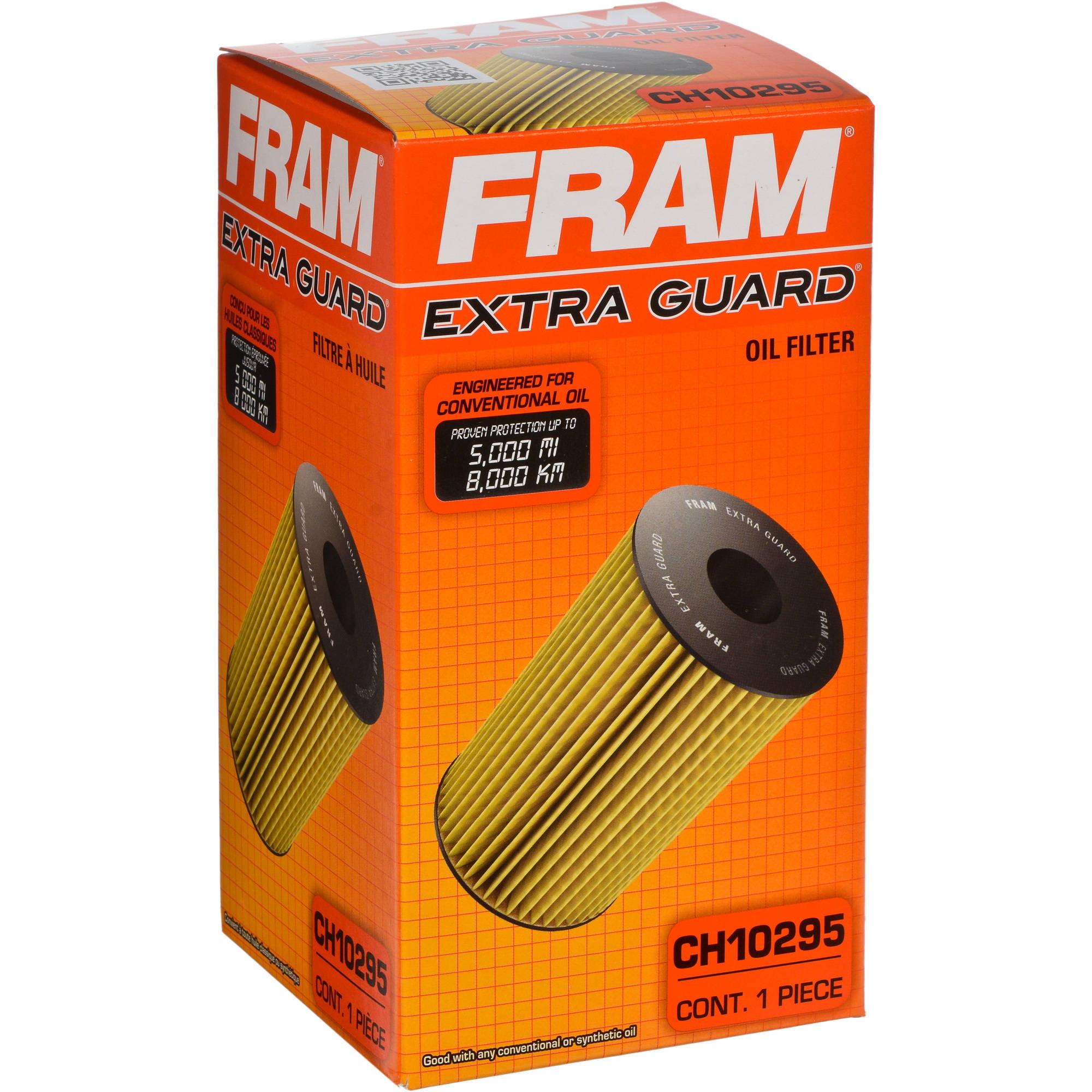 FRAM Extra Guard Oil Filter, CH10295