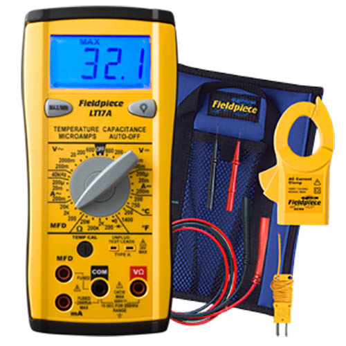 Fieldpiece LT17A Classic Style Digital Multimeter for HVAC/R