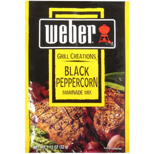 Weber Grill Creations: Black Peppercorn Marinade Mix, 1.12 oz
