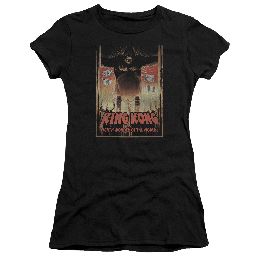 King Kong Eighth Wonder Of The World Juniors Premium Bella Shirt