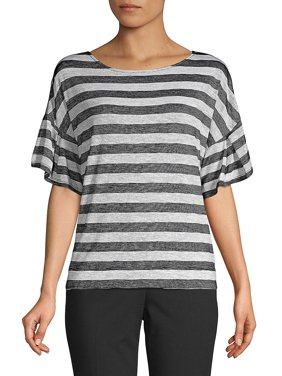 77363994c6a72c Jones New York Premium All Womens Tops & T-Shirts - Walmart.com