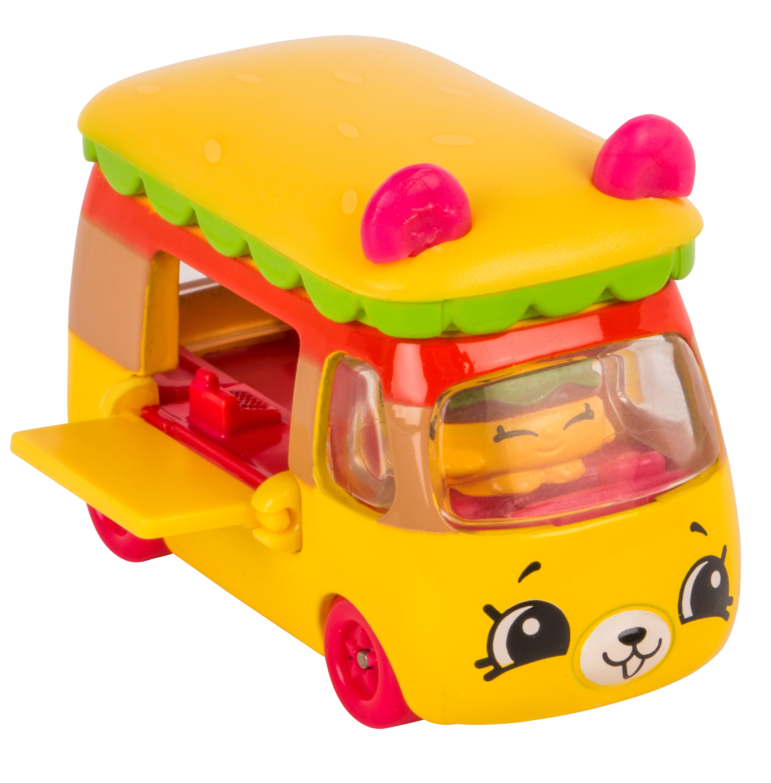 Shopkins Cutie Car Single Pack, BUMPY BURGER
