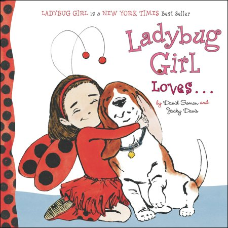 Love Books Girl (Ladybug Girl Loves (Board)
