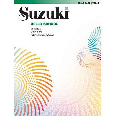 Suzuki Cello School, Vol 3 : Cello