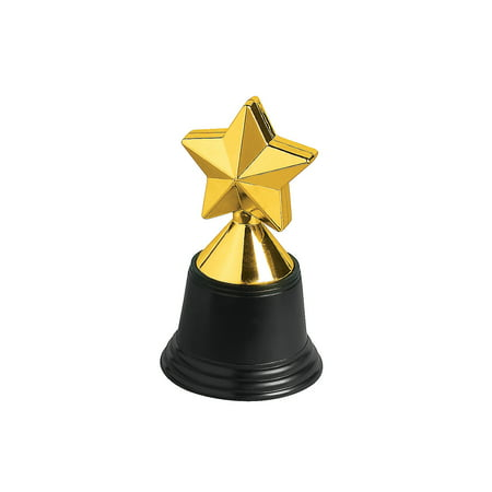 Shooting Star Trophy Award - Fun Express - Star Trophies - Stationery - Awards - Trophies & Awards - 12 Pieces