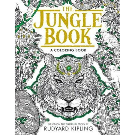 The Jungle Book: A Coloring Book (Paperback)