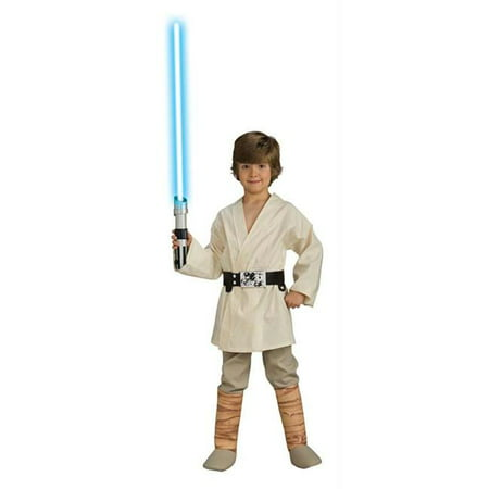 Costumes For All Occasions Ru883162Lg Luke Skywalker Dlx Child Large - Diy Luke Skywalker Costume