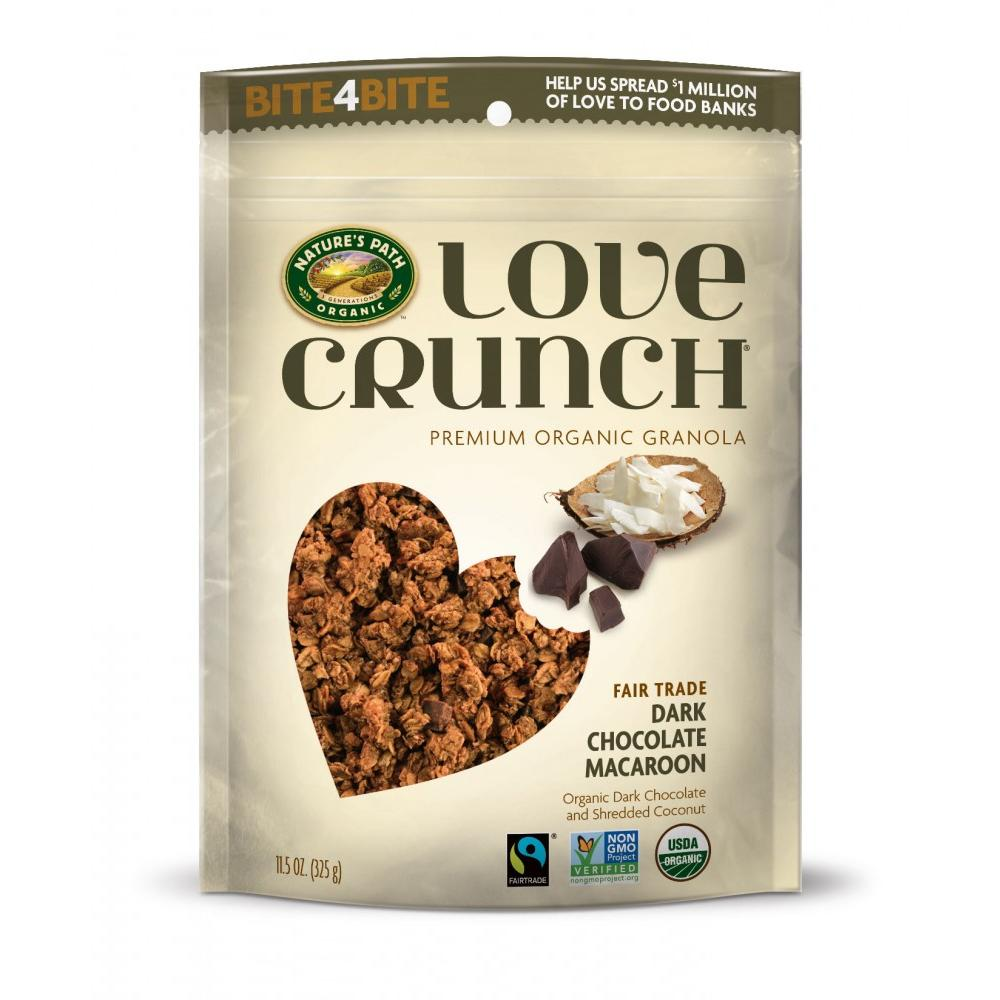Nature's Path Love Crunch Granola, Dark Chocolate Macaroon, 11.5 Oz