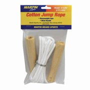 JUMP ROPE POLYESTER 8WOOD HANDLE