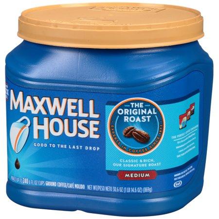 Maxwell House Original Roast Medium Ground Coffee 30 6 Oz