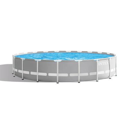 20 Inch Helmet Pool - Intex 20 Foot x 52 Inch Prism Frame Above Ground Swimming Pool w/ Filter Pump