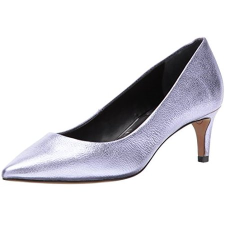 Dolce Vita Women's Salem Pump, Amethyst Leather, 8 Medium US Dolce Vita Leather Pumps