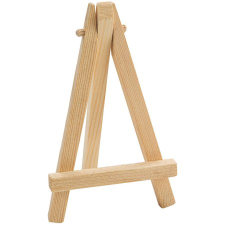 Mini Wooden Easel, Pack of 24](Wooden Easel Stand)