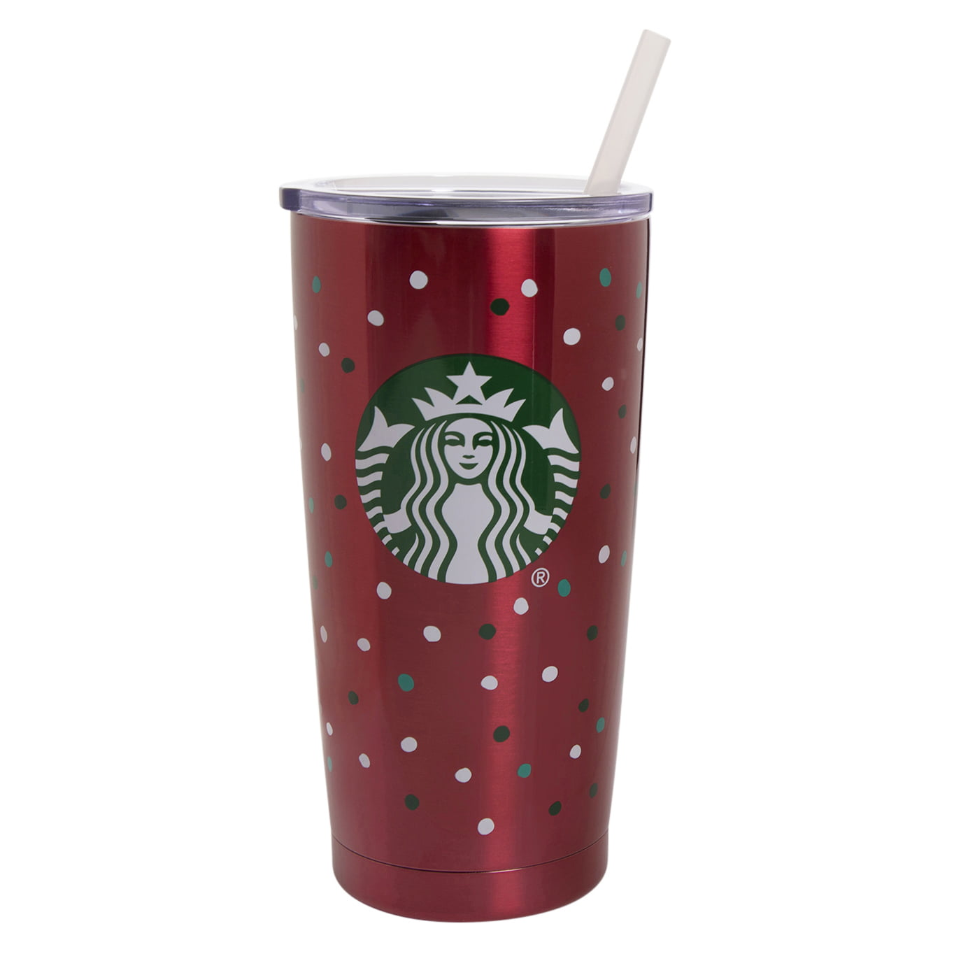 Starbucks 20 Ounce Red Stainless Steel Vacuum Tumbler