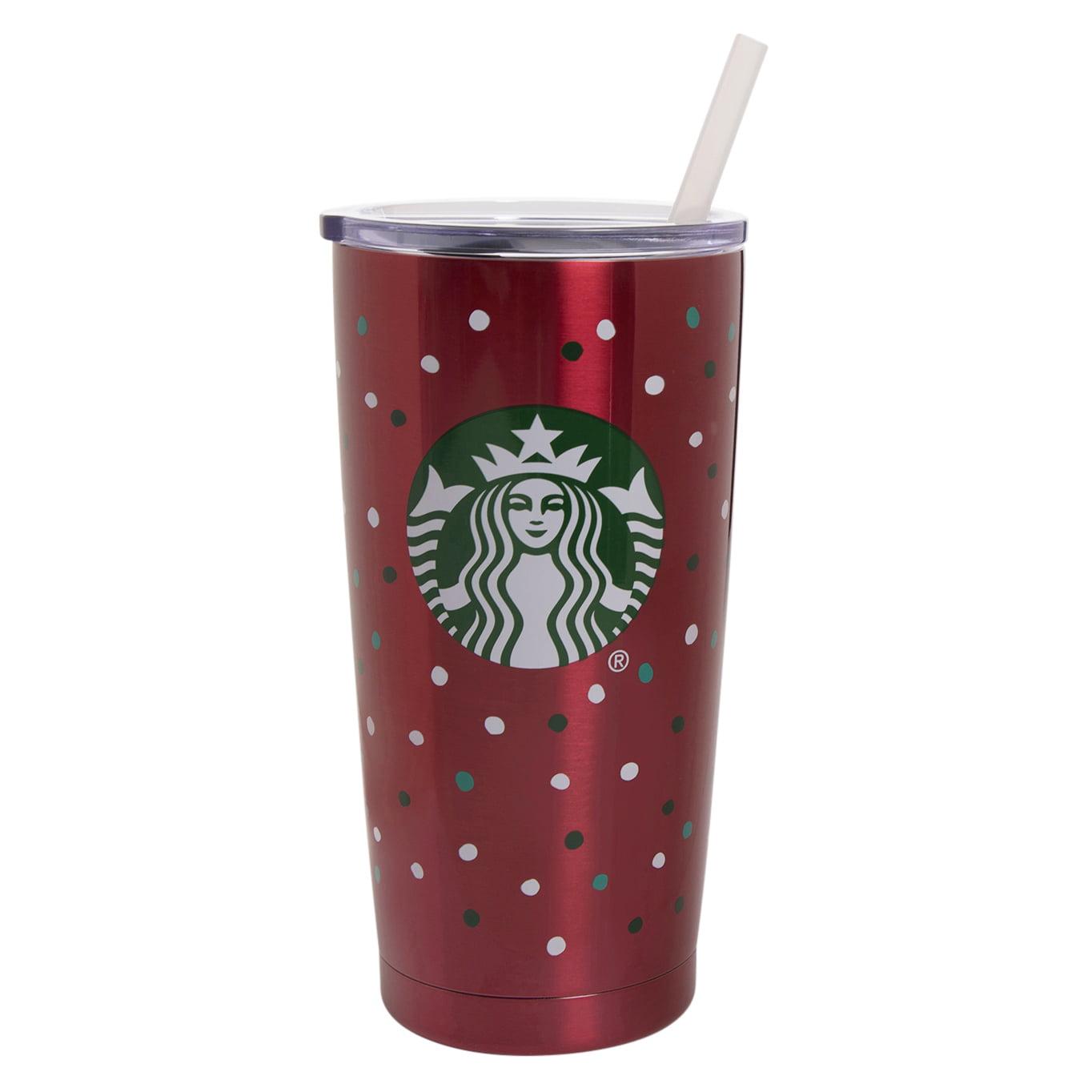 Starbucks 20 Ounce Red Stainless Steel Vacuum Tumbler