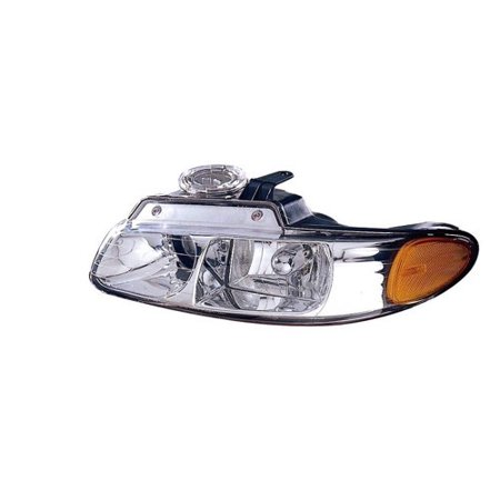 Go-Parts » 1998 - 1999 Plymouth Voyager Front Headlight Headlamp Assembly Front Housing / Lens / Cover - Left (Driver) Side 4857151AC CH2502114 Replacement For Plymouth Voyager