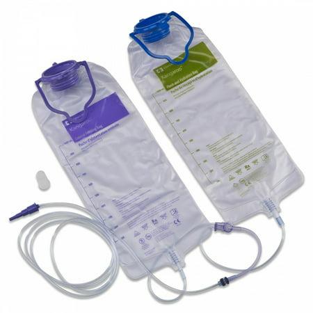 Enteral Feeding Pump Bag Set Kangaroo Joey 1000 mL Case of 30