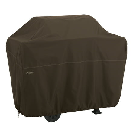Classic Accessories Madrona™ RainProof™ BBQ Grill Cover, Medium, 58-Inch W, Dark