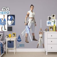 Fathead Rey - Star Wars: The Rise of Skywalker - Life Size Officially Licensed Removable Wall Decal