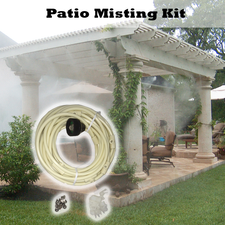 Patio Misting Kit Assembled by Mistcooling