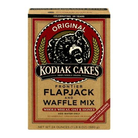 Kodiak Cakes Frontier Flapjack And Waffle Mix Original  24 0 Oz