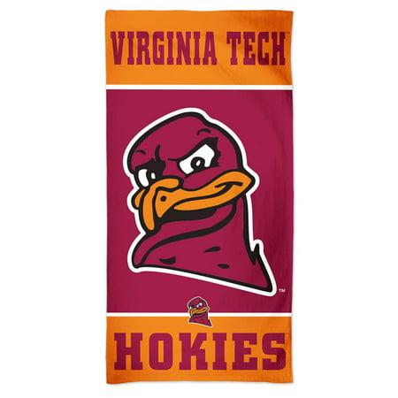 Virginia Tech VT Hokies Beach Towel 30 x 60 Spectra Beach Towel - Halloween Store Virginia Beach